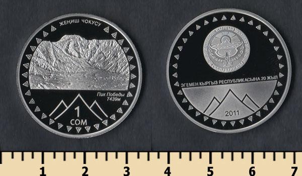 стоимость монет 10 сом