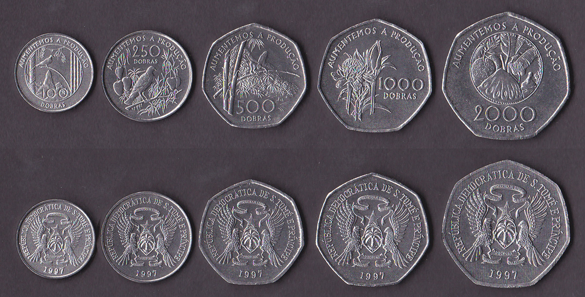 Сан томе и принсипи валюта 2 евро цветные юбилейные